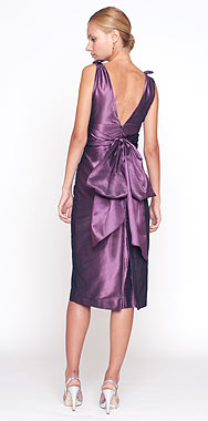 Grape Silk Taffeta