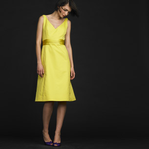 Lyndsay Dress in Sour Lemon