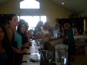 Tasting at Thirsty Owl Winery