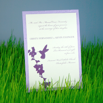 Seeded Invites by Lucky Onion