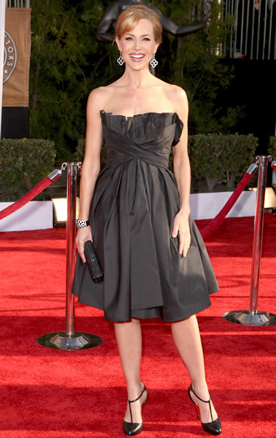 Dexter's Julie Benz at the 2009 Sag Awards