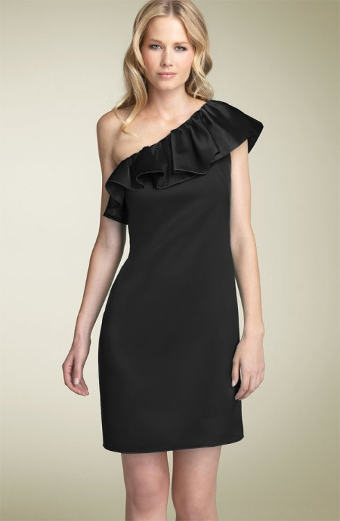 ABS by Allen Schwartz Ruffle Sheath Dress $288- Nordstrom