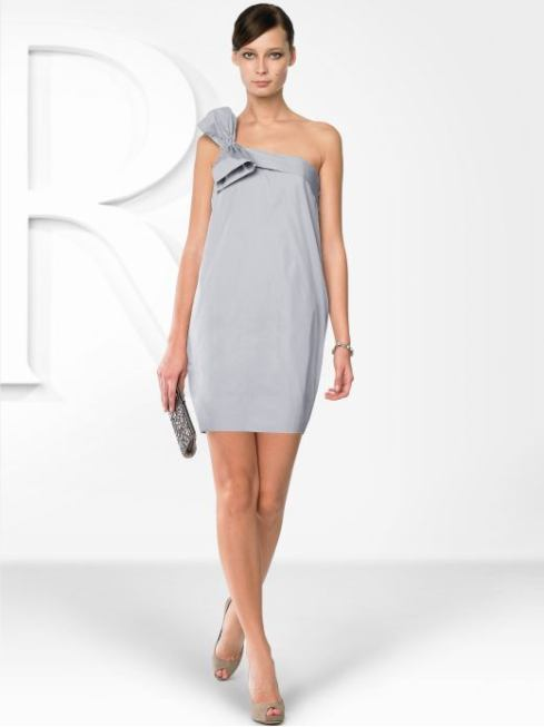 BR Monogram Silk Bow Dress- $250- Banana Republic
