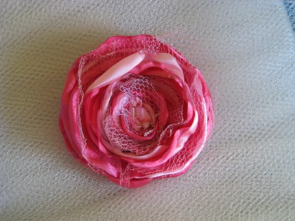 Etsy Seller- $22 Jilliann's Pink Rose Brooch