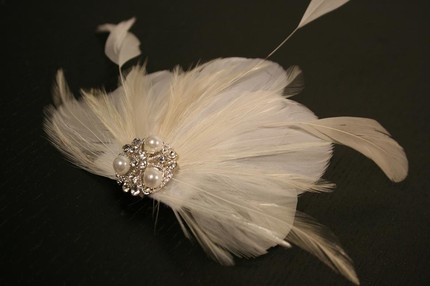 AOKI feather headpiece- $49 Etsy Seller Portobello