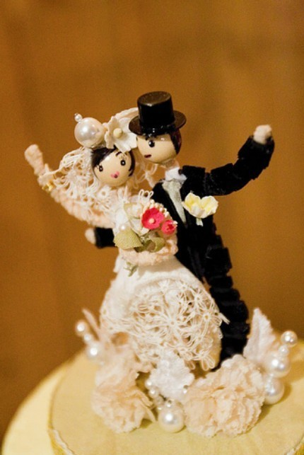 Custom Cake Toppers from Oil Painta $100- Etsy