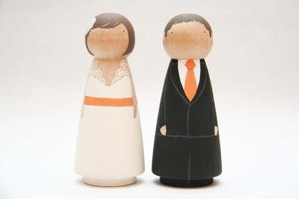 Custom Cake Toppers from Goose Grease $55