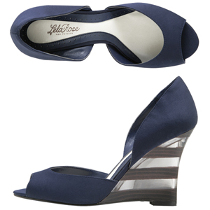 Gillan Wedge- Lela Rose for Payless $38
