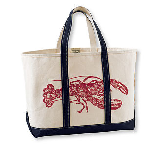 Boat and Tote- Lobster $30-$34 L.L.Bean