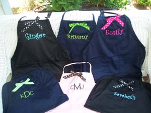 Preppy Aprons $20- The Palm Gifts