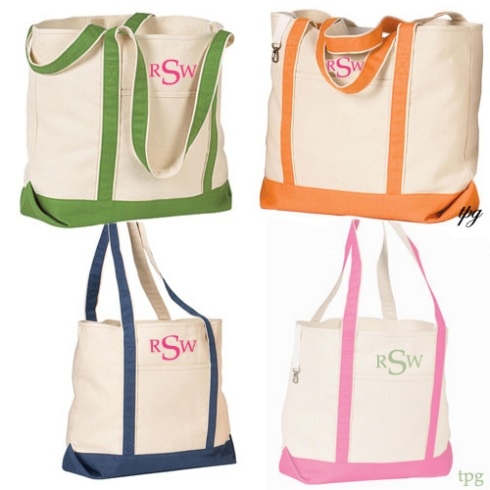 Boat Totes $24- The Palm Gifts