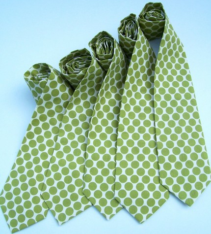 Neckties from Me and Matilda on Etsy- $90 for 5