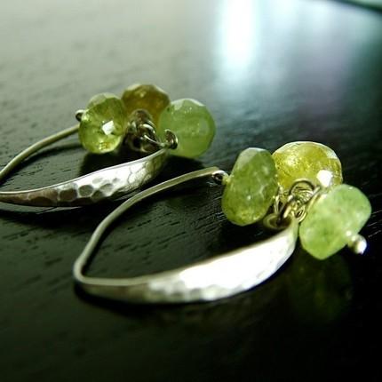 Parrot Bay Silver Earrings from Jeanne de Andrade Designs $24