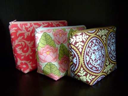 Personal Cosmetic Bags from LaFlor