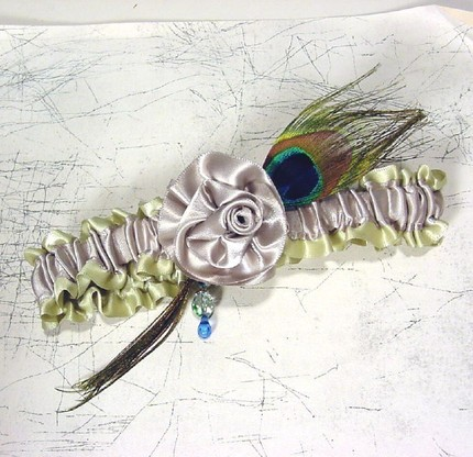 French Boudoir Style Garter by Designs by Peterene on Etsy - $30