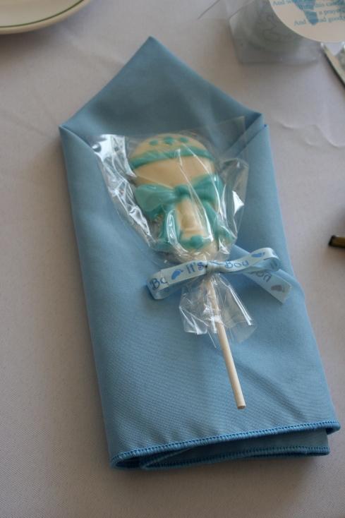 Chocolate Rattle Lollipops
