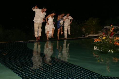 Water Dancing...