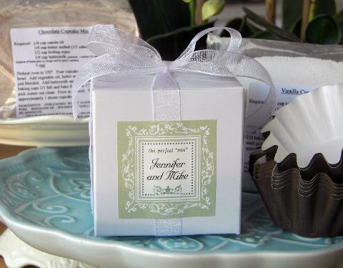 Flour Seeds Custom Cupcake Mixes- The Perfect Favor!
