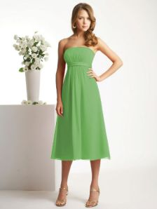 Green Bridesmaid Dress from Jasmine Bridal