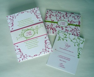 Secret Garden Wedding Invitation by Tulaloo (Etsy)