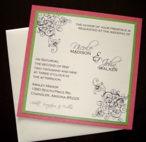 Custom Invitations by Embellished by Tiffany (Etsy)