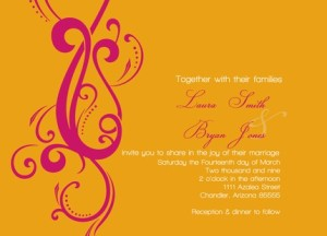 Custom Invitations from Lillebarn too