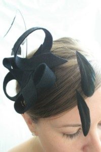 The Cleo from Jay B Millinery (Etsy) $78