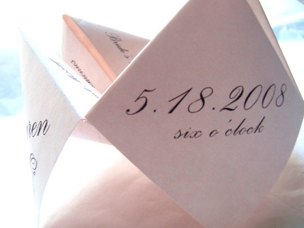 "Program ""Cootie catchers"" from Kat's Krafts (Etsy)"
