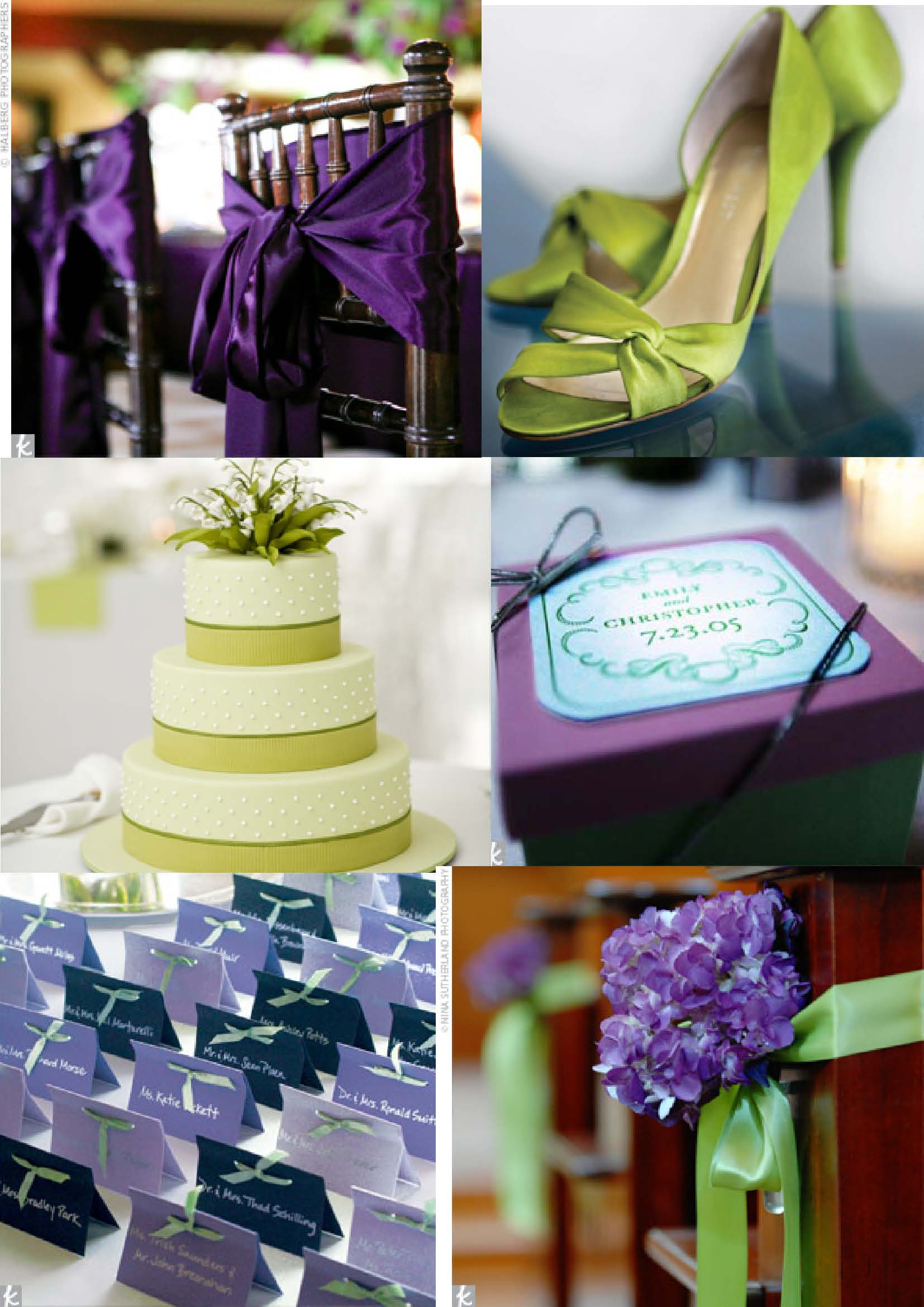 wedding ideas purple and green anyone lime green amp purple colour theme wedding 28294