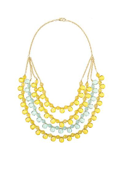 Sun Rise Nectar Necklace - Anthropologie $42