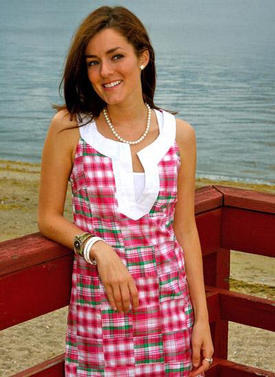 Chartner Meadow Melon Dress from Kiel James Patrick $68