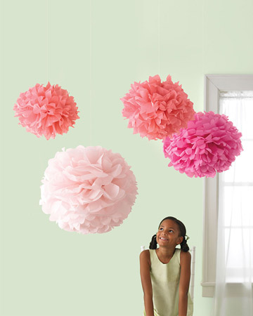 Pom Pom Decor from Martha Stewart