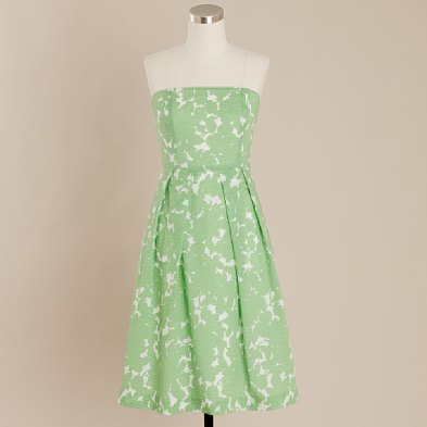 Embossed Green Lorelei Dress $118