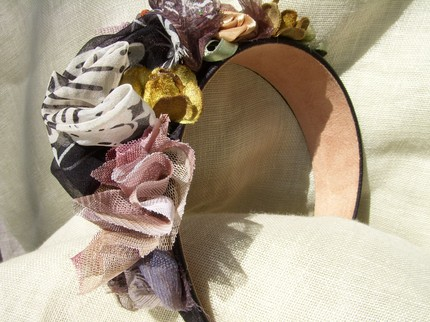 Something Lavish Headband-Laurel and Magnolia-Etsy $39