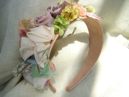 Something Lavish Headband- Laurel and Magnolia's- Etsy $39