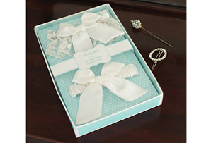 Bow Garters in a Box