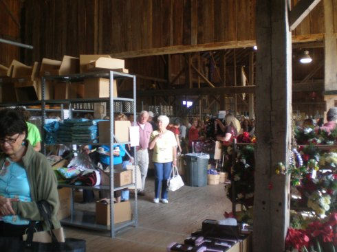 Inside the Barn