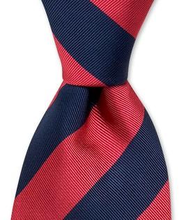 Bold Stripe Woven Tie $85