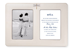 June Lane Double Invitation Frame $69