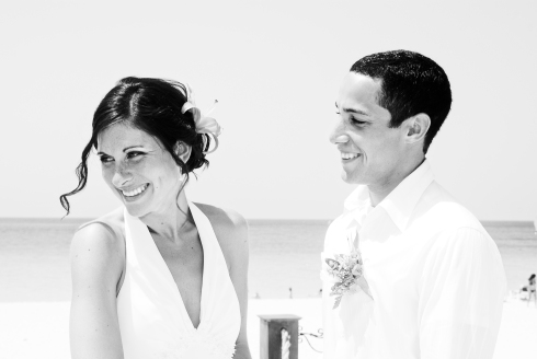 The beautiful couple...