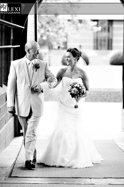 Walking with the Father- of the-Bride