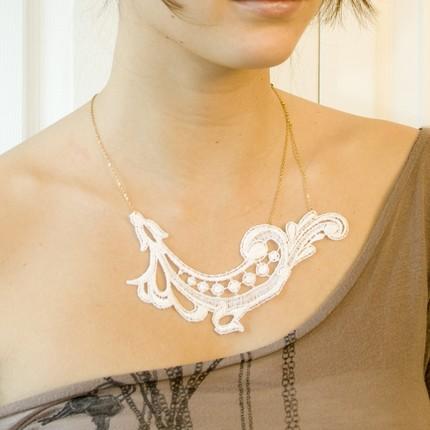 Mera Splash Vintage necklace from This Ilk- Etsy $38