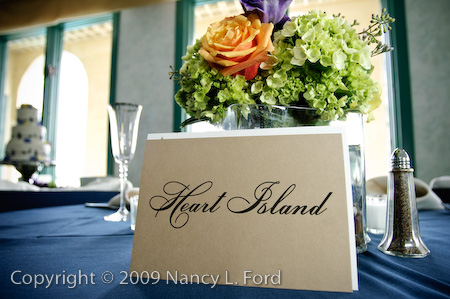 Table cards...