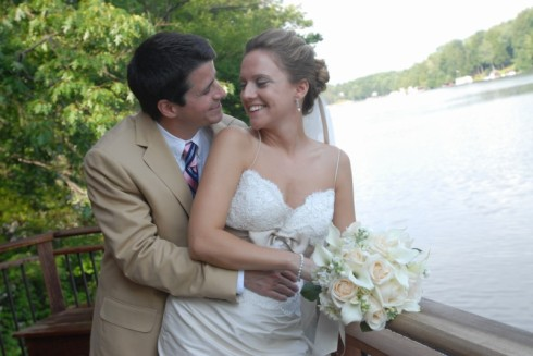 The Newlyweds at the Lake...