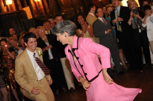 The Groom dances with his Mother...