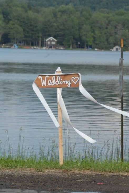 Wedding at the lake...