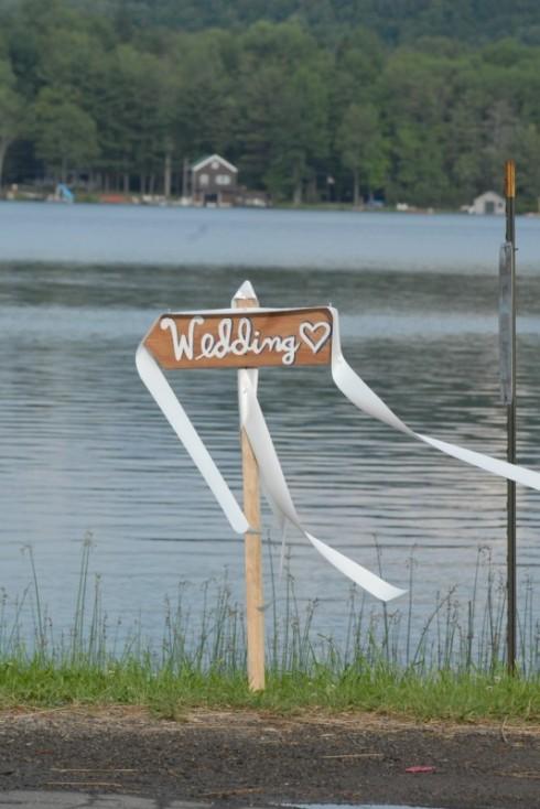 Wedding at the lake...