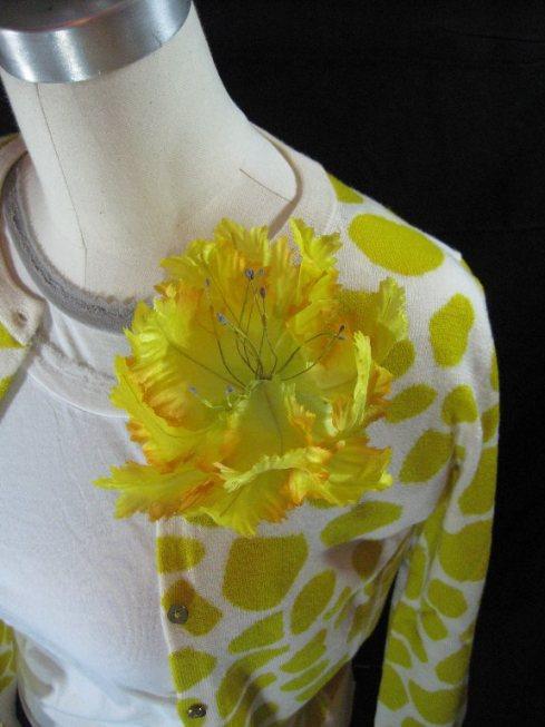 Yellow Parrot Tulip Pin $27.99