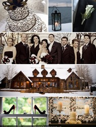 Erin's Winter Wedding Inspiration Board- SMP Style Circle