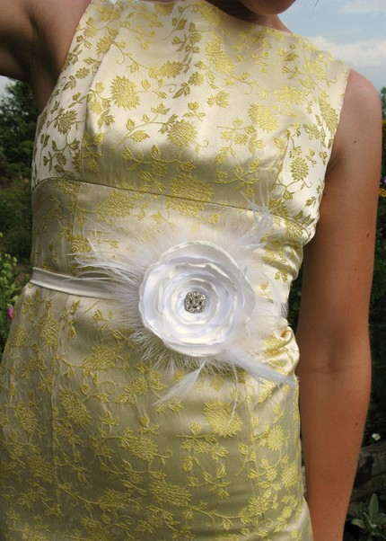 Bridal skinny sash belt $45 from Etsy vendor icing 101...